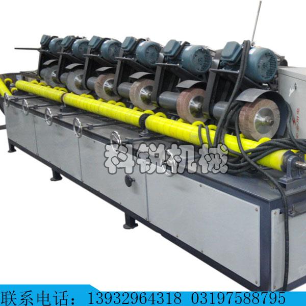 自动角钢除锈机